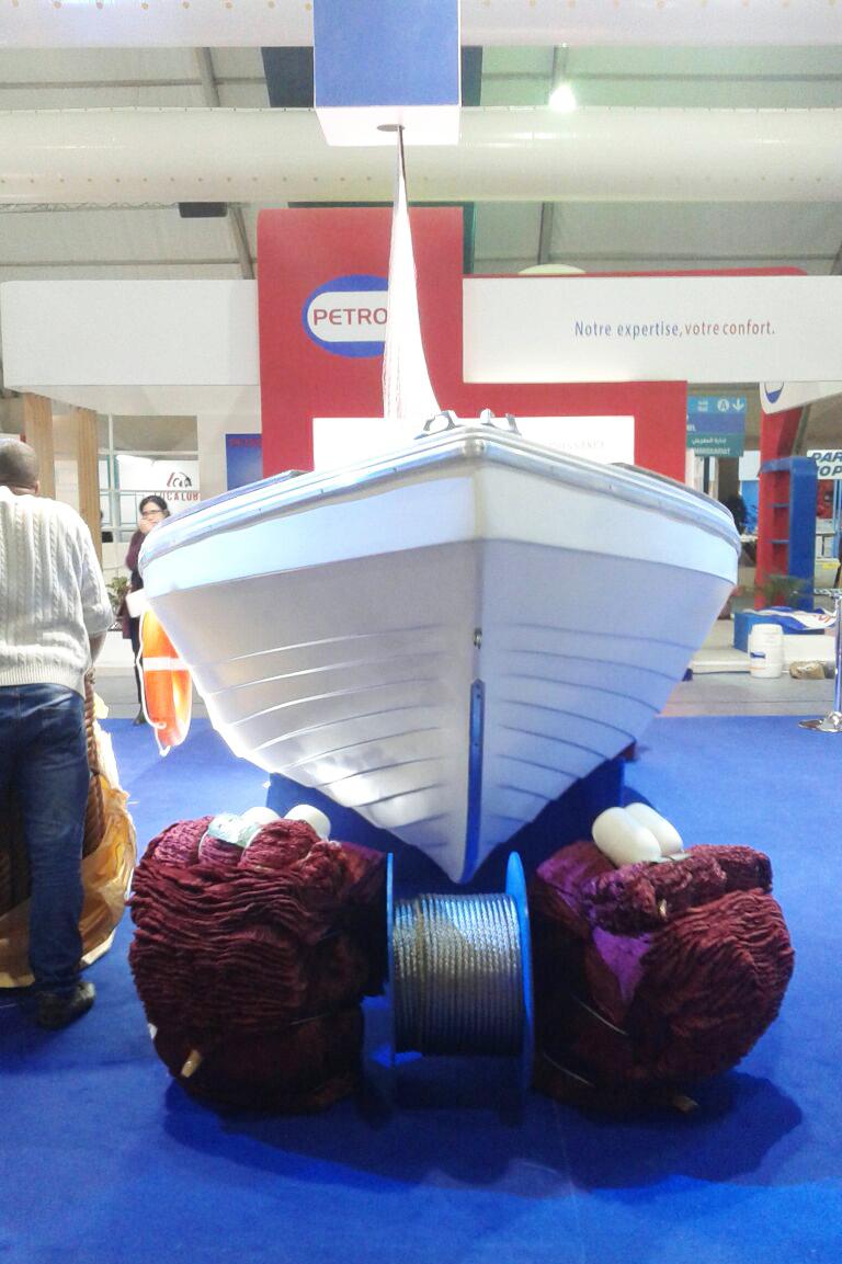 Barques en polyester