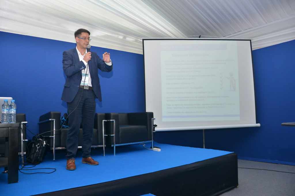 """MIFA EQUIPEMENT at Preventica 2018: Conference under the theme """"Securing Work High with Lines of Life"""""""
