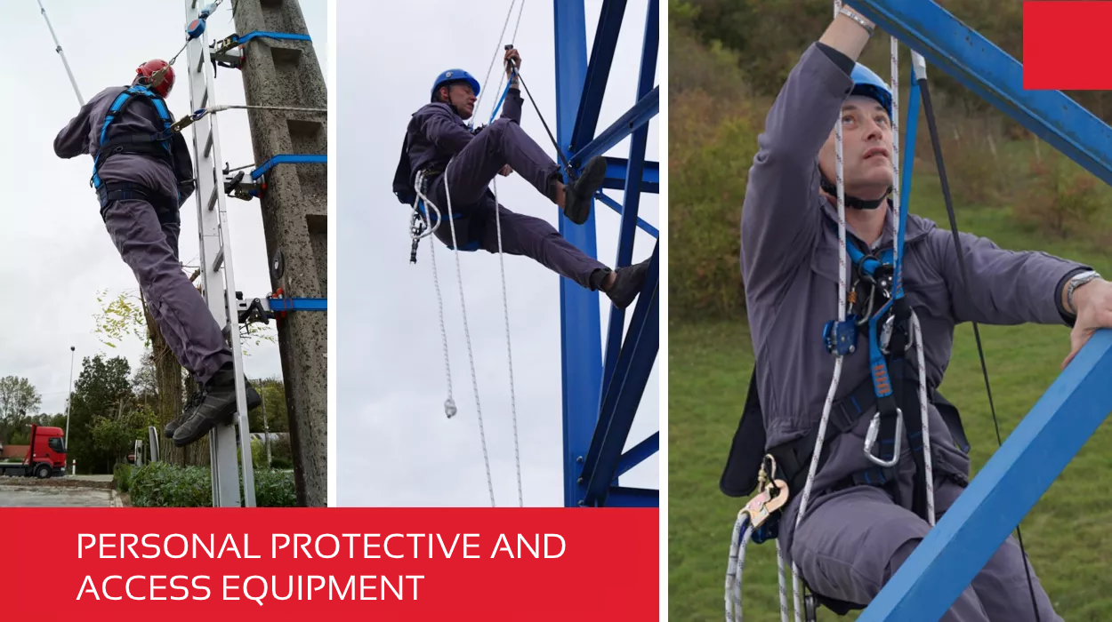 Personal protective and access equipment